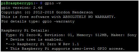 树莓派Zero W GPIO控制 树莓派 第13张